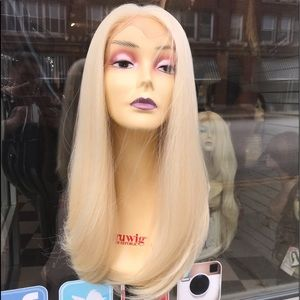 Accessories - Full lace blonde human hair wig 2019 new fulllace